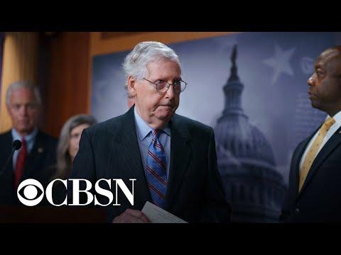 Senate GOP blocks procedural vote on bipartisan infrastructure bill
