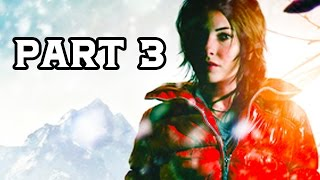 Rise of the Tomb Raider Gameplay Walkthrough - Part 3 - Secret Caves (XB1 1080p HD)