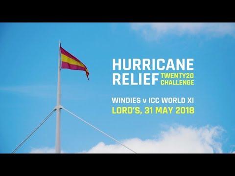 West Indies v World XI: Hurricane Relief T20 Challenge | #CricketRelief