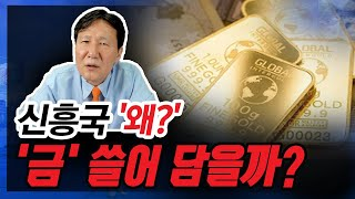 [정완진TV] 신흥국 '왜?'...'금' 쓸어 담을까?…