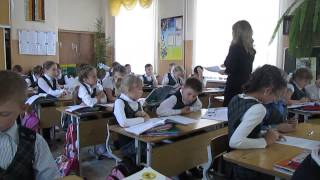 Открытый урок - Английский язык - 1 класс - 2014