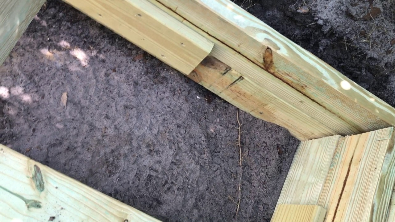 How to build a deck over a septic tank or system youtube for How to build a septic tank