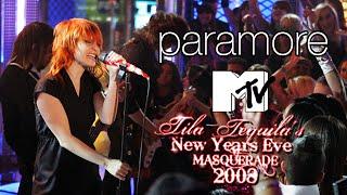 Paramore - Crushcrushcrush (Live MTV's New Years Eve 2008)