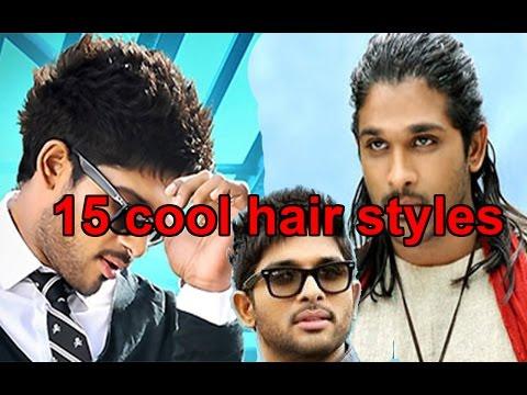15 cool hair styles of allu arjun    hair styles for guys