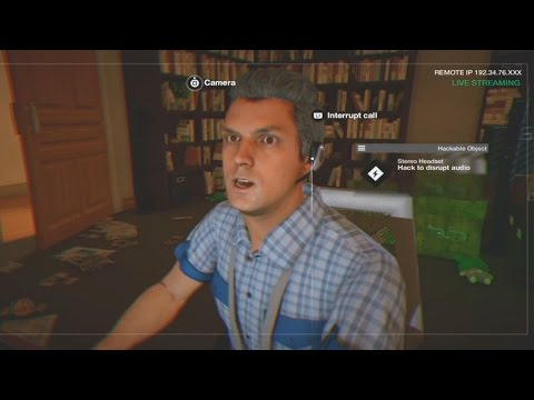 Hacking A Pervert - Watch Dogs 2