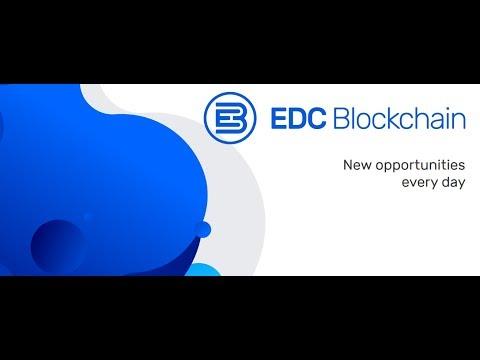 Обзор проекта EDC Blockchain/как пользоваться их кошельком