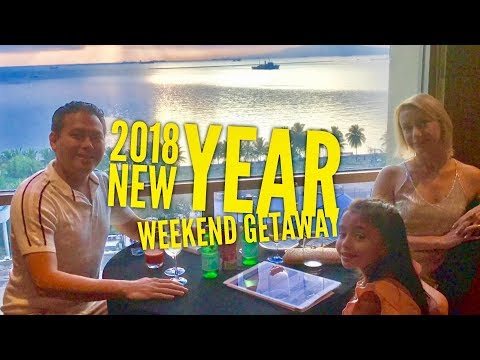 2018 New Year Weekend Getaway: New World Manila Bay Premier Club Room