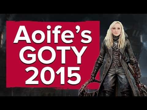 Aoife's game of the year 2015 - Bloodborne