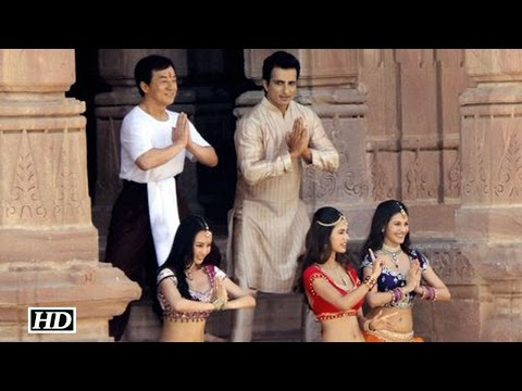 Thumbnail: Kung Fu Yoga Shooting | Jackie Chan Dances With Farah Khan