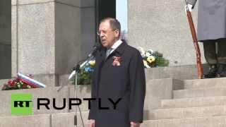 Slovakia: Lavrov marks 70th anniversary of Bratislava