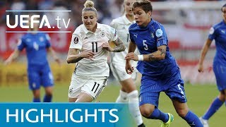 Women's EURO highlights: Germany 2-1 Italy
