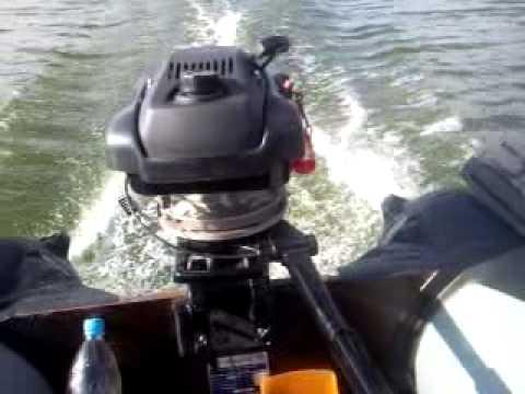 лодочный мотор гибрид скорость