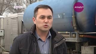 Ассенизаторы незаконно сливают нечистоты в городские коммуникации Алматы (19.11.18)