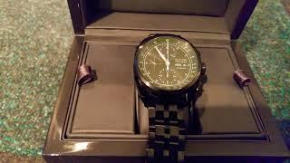 Bulova AccuSwiss Tellaro 65C116 Automatic Chronograph