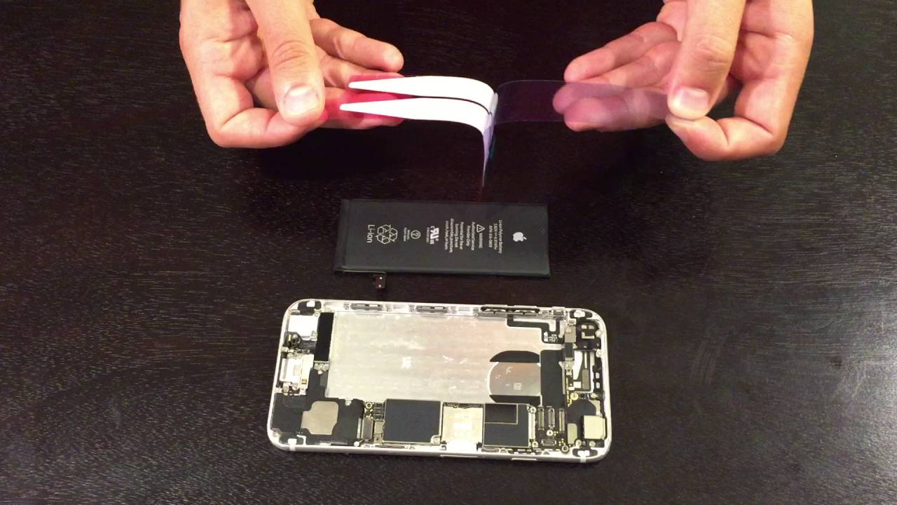 Iphone 6 Battery Adhesive Installation Replacement Guide
