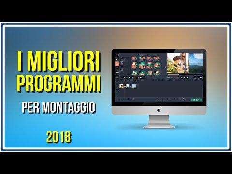 I Migliori Programmi per Editare Video (2018)