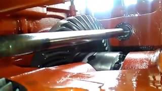 renault Ares 710 Claas skrzynia biegów hamulec reczny remont renovation, repair Renovierung