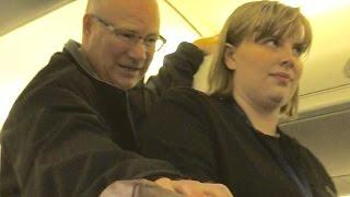 Raging Drunks vs Hero Captain | Horizon Air flight Portland