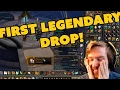 My First Legendary Drop REACTION | HEATHCLIFF'S IMMORTALITY  | World Of Warcraft Legion