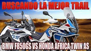 BMW F850GS VS HONDA AFRICA TWIN SA !!! PRUEBA COMPARATIVA BUSCANDO LA MEJOR MOTO TRAIL