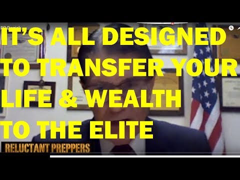 IT'S ALL DESIGNED TO TRANSFER YOUR LIFE & WEALTH TO THE ELITE | Derrick Michael Reid