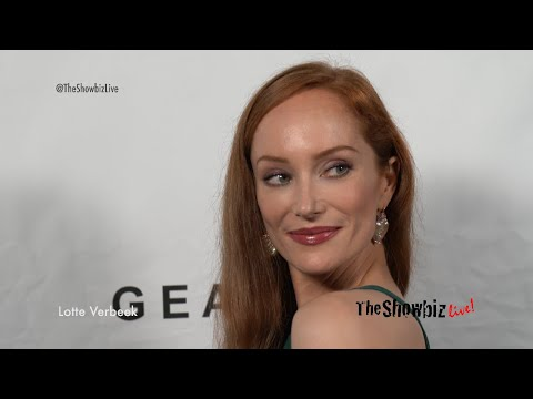 Lotte Verbeek at 2018 GEANCO Foundation Hollywood Gala