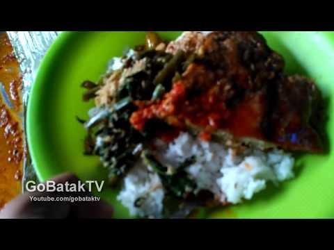 Nasi Campur Di Pasar Horas Siantar  - Indonesian Street Food