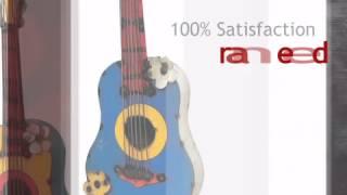 Recycled Metal Guitar Wall Art - Lonestarwesterndecor.com
