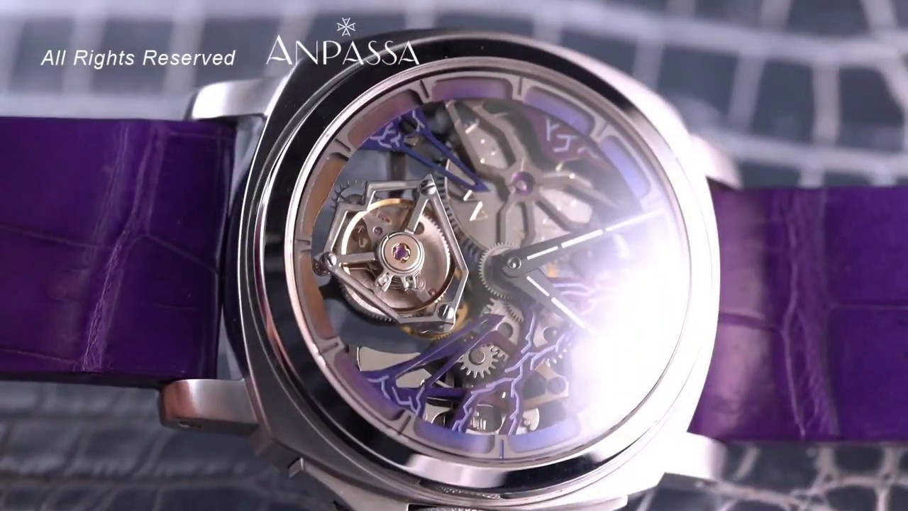 ANPASSA H702 Luminous Tourbillon