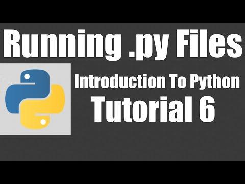 Cara Running File Python