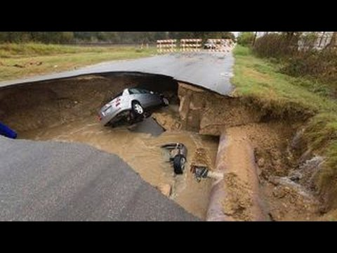 Texas Deputy Dies After Car Plunges into Sinkhole. Watch to Learn More!