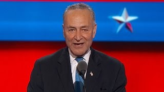 NY Senator Chuck Schumer addresses DNC