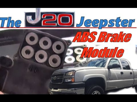 How to Replace ABS Module on a 05 Silverado HD - YouTube