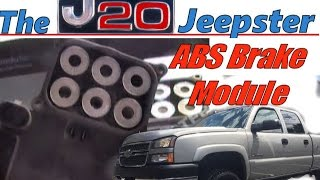 Video How to Replace  ABS Module on a 05 Silverado HD download MP3, 3GP, MP4, WEBM, AVI, FLV Juli 2018