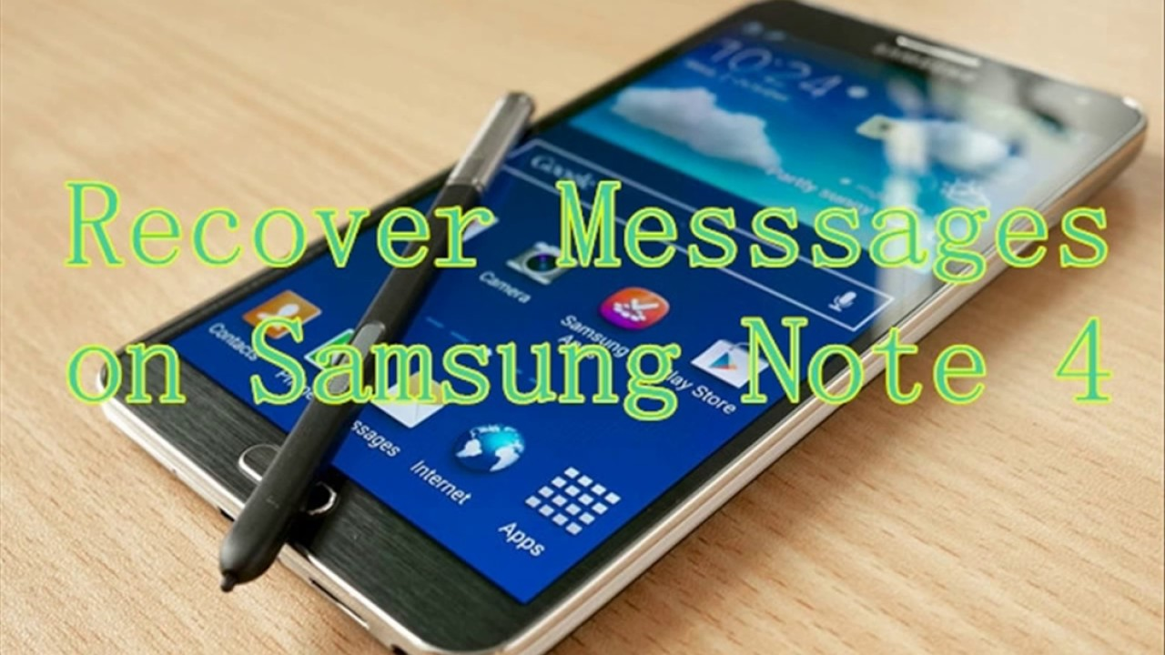 how to get deleted messages from samsung
