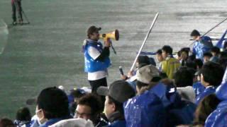 モンテディオ山形 2009セレモニー スポーツ県民歌 コールリーダー山科君...