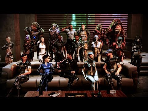 Mass Effect 3 - Citadel DLC Funny Moments