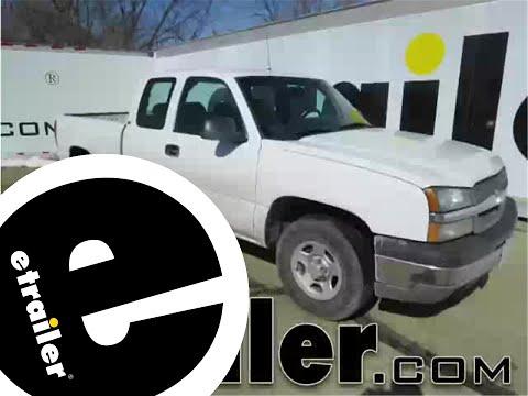 Etrailer | Trailer Wiring Harness Installation - 2003 Chevrolet Silverado