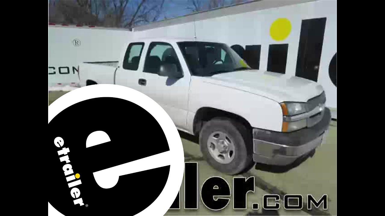 7 Pin Flat Trailer Wiring Diagram With Brakes 2 Flasher Relay Install 2003 Chevrolet Silverado C55515 Etrailer Com
