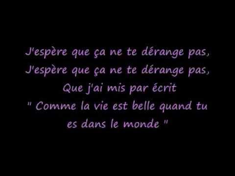 Elton John Your song Traduction française