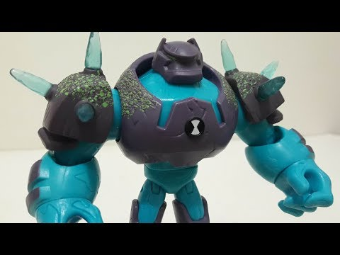 Review do Boneco Choque Rochoso (Shock Rock) - Ben 10 Reboot
