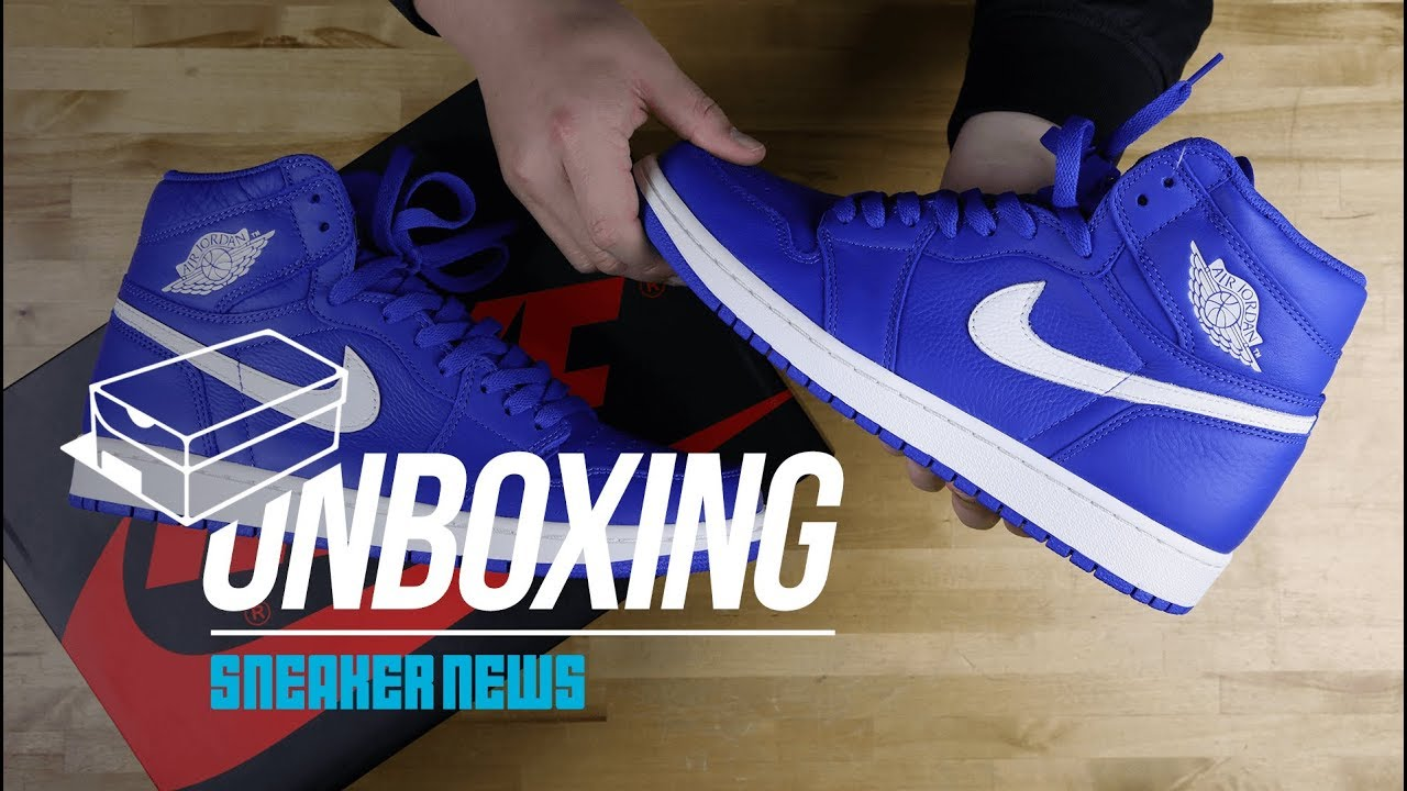 the best attitude 9b03a c0ab4 Unboxing The Air Jordan 1 High
