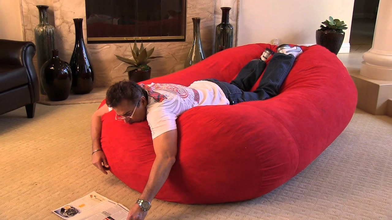 The Larson 8 foot Bean Bag Bed  YouTube