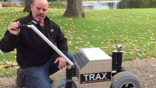 Motorized Trailer Dolly TX6000 -By TRAX Power Dolly Systems Inc.