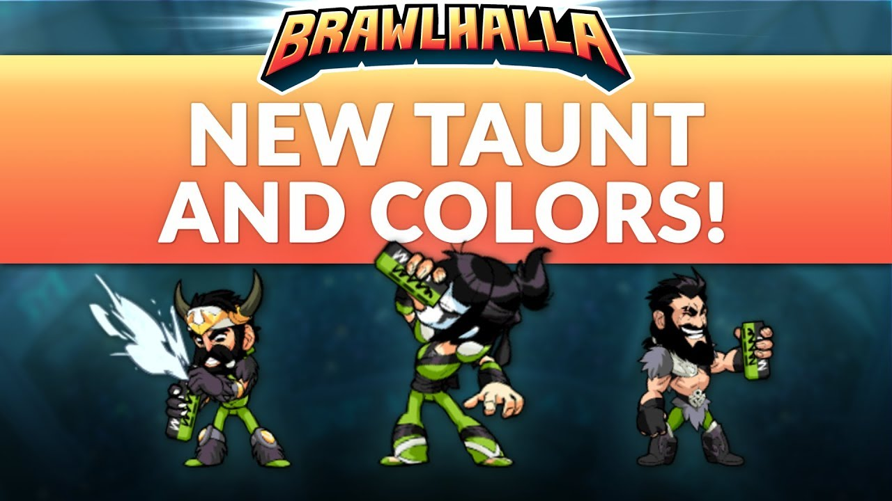 new taunt and colors
