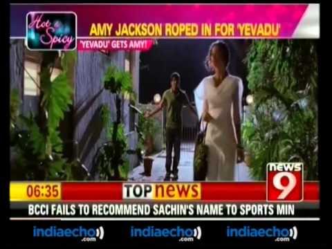 Amy Jackson Roped In For Yevadu-Indiaecho.com