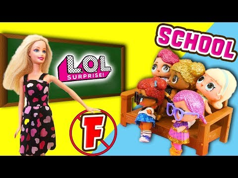 lol-doll-school!-glitter-series-fancy-gets-in-trouble-at-school!-featuring-queen-bee-&-super-bb