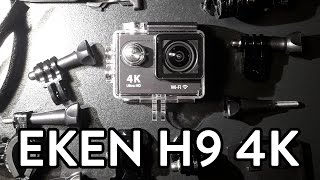 EKEN H9 4K CAMERA | HELMET TEST (4K) - PART 1