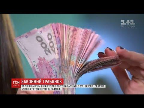 Кожен українець щомісяця