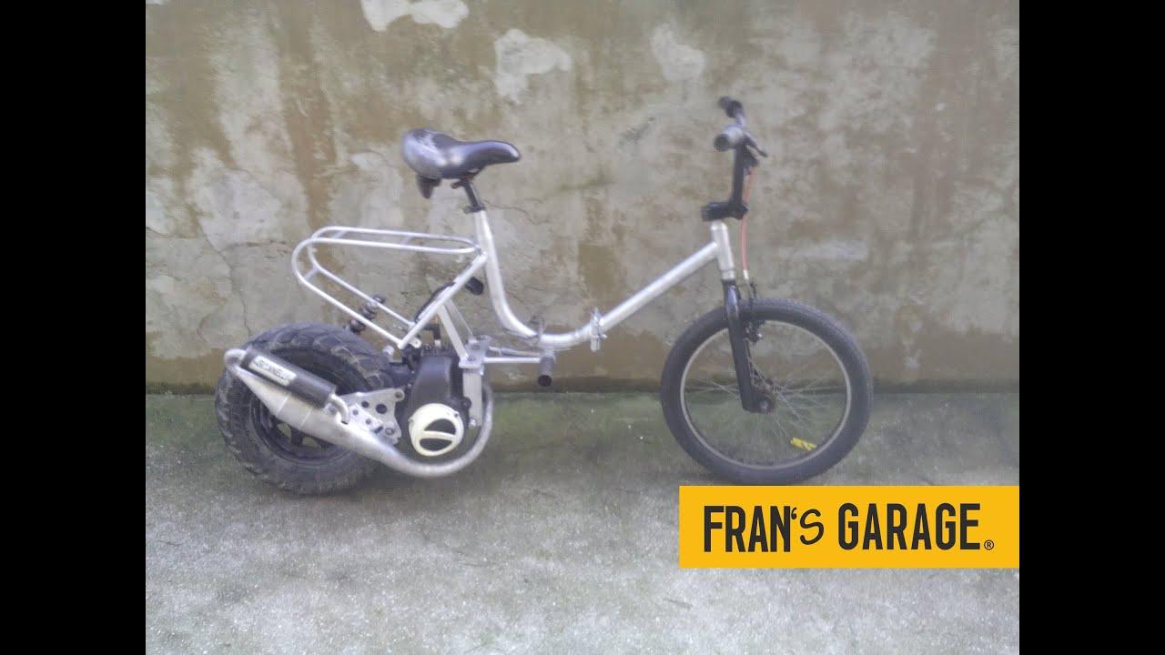 Bici Graziella A Motore Motorized Bike